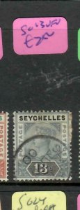 SEYCHELLES  (P2605B)  QV  13C    SG 13   CDS   VFU