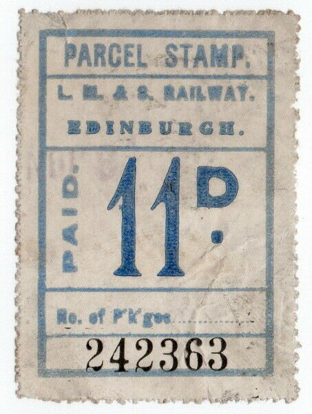 (I.B) London Midland & Scottish Railway (Caledonian) Parcel 11d (Edinburgh)