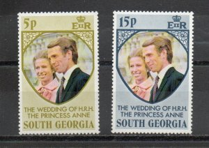 South Georgia 37-38 MNH