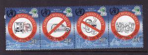 Kiribati-Sc#842-Unused NH set-Road Safety-2004-