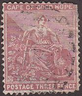Cape of Good Hope 37 Hope & Symbols of the Colony 1882