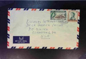 Sarawak 1964 Airmail Cover to USA - Z1831