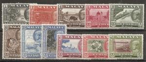 Malaya Kedah 95-105 1959-62 Views set NH