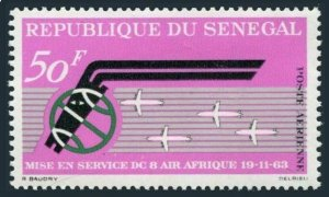 Senegal C33,MNH.Michel 275. Air Afrique 1963.