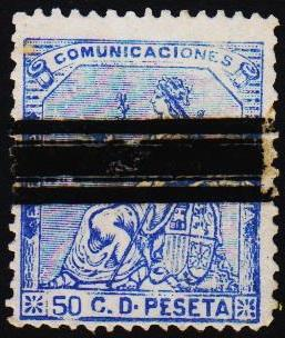 Spain.1873 50c S.G.213 Fine Used