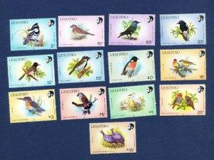 LESOTHO - Scott 618 // 632b - FVF MNH - BIRDS -