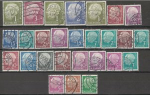 COLLECTION LOT # 4060 GERMANY 27 ALL CONDITIONS STAMPS CLEARANCE 1954+ CV+$23