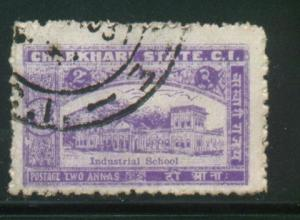 India -Charkhari Sct # 30; Used