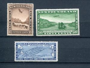 Newfoundland #C6-9  Mint    VF