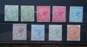 Bermuda 1883 - 1904 values to 4d MM