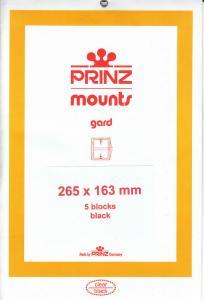 PRINZ BLACK MOUNTS 265X163 (5) RETAIL PRICE $13.50