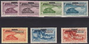 French Equatorial Africa 1-5, 9 MH, 10 U