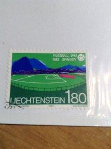 Liechtenstein  #  739  Used