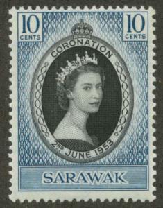 Sarawak 196 Mint VF H