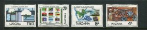 Tanzania #254-7 MNH
