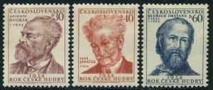 Czechoslovakia 658-860,MNH.Michel 864-866. Year of Czech Music,1954.Composers.