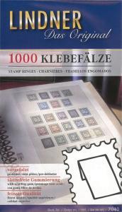 Lindner Stamp Prefolded HINGES Pack of 1000