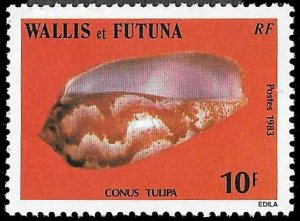 Wallis & Futuna SC 303 - Tulip Cone - Unused - 1983