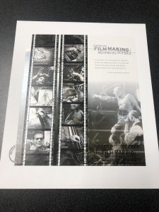 US FDC 3772 American Filmmaking Souvenir Sheet First Day Cover 2003