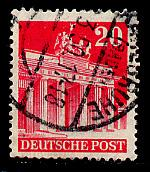 Germany AM-Post Scott # 646a, used