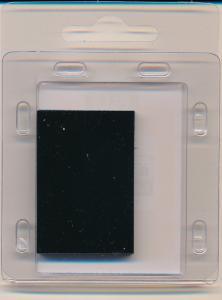 Prinz Scott Stamp Mount Size 40/25mm BLACK (Pack of 40) (40x25 40mm)  PRECUT