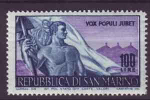 J12123 JL stamps 1948 san marino hv of set mlh #276 flag $52.50 scv
