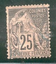FRENCH COLONIES USED 54 COMMERCE