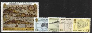 Ascension Island 288-93 MNH Maps