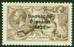 EDW1949SELL : IRELAND 1925 Sc #77 Very Fine, Mint OG VLH Signed 'Diena' Cat $70