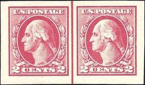 532 Mint,OG,NH... Line Pair... SCV $175.00... XF+