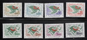 ALGERIA Scott 296-303 MNH** Flag set CV $31