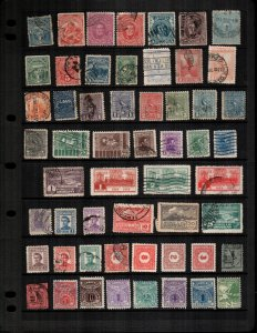 Uruguay  51 diff Used and mint  hinged