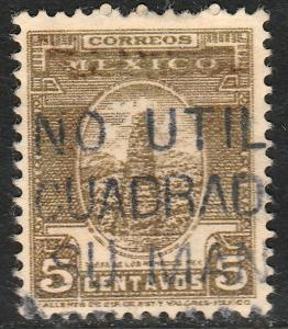 MEXICO 841 5c 1934 Definitive Wmk Gobierno...279 Used (923)