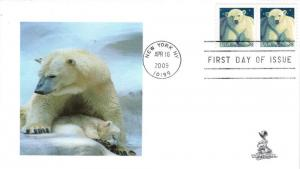 Polar Bear FDC, #2, from Toad Hall Covers!