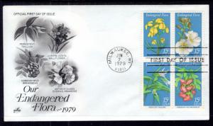 US 1786a Endangered Flora Artcraft U/A FDC