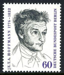 Germany-Berlin 9N331, MNH. E.T.A. Hoffmann, Writer and Composer, 1972