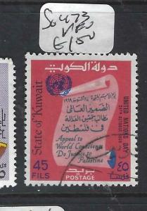 KUWAIT    (P0405B)  UN DAY  SG 473   VFU