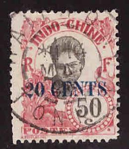 French Indo-China Scott 77 Used stamp
