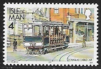 Isle of Man # 448 - Douglas Cable Car - MNH....{BRN1}