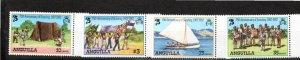 Anguilla 1982 Sc 502-5 MNH Commemorative Perforate