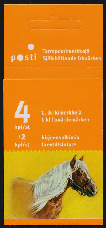 Finland 1239 Booklet MNH Horses