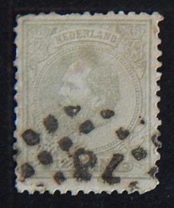 Netherlands, 1872-1888, King William III of the Netherlands, MC #22, (2100-1-Т)