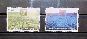 Ireland 1994 Parliamentary Anniversaries Used Full Set A22P20F9043