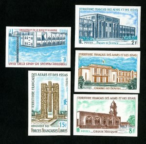 Afars and Issas Stamps # 324-8 Imperf NH