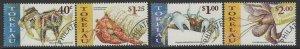 TOKELAU ISLANDS SG290/3 1999 CRABS FINE USED