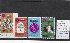 kenya uganda tanzania mnh scouts  stamps Ref 9254