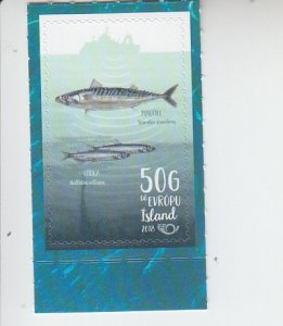 2018 Iceland NORDEN - Fish (Scott NA) MNH