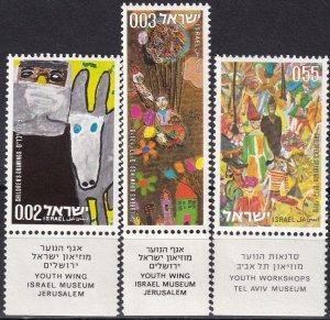 Israel #505-7  MNH With Tab (SU7898)