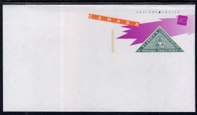 Canada Unitrade U133 Postal Envelope Unused VF