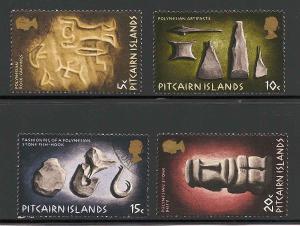 Pitcairn Islands 119-122 Used VF